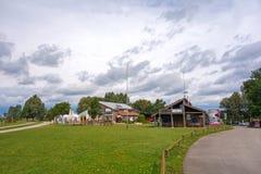 Altmuehlsee near Muhr Stock Photo