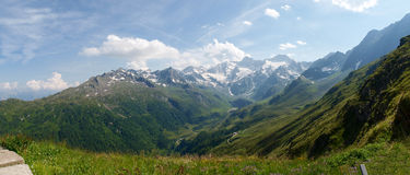 Alto Adige Alps. Italy - Juli 19, 2014: View of the royalty free stock photos