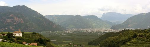 Alto Adige - Italy. A Valley in northern Italy royalty free stock images