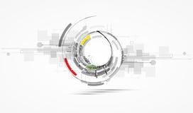 Alto affare b di tecnologie informatiche di Internet futuristico Fotografie Stock Libere da Diritti