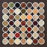 Alto alimento salutare secco della fibra Immagini Stock Libere da Diritti
