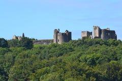 Alto alto del castello Fotografia Stock Libera da Diritti