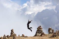 Alto ascendente - vitalidad Fotos de archivo