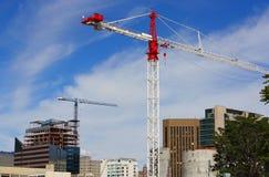 Alto aumento in costruzione Immagine Stock Libera da Diritti