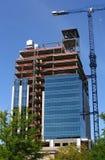 Alto aumento in costruzione Fotografia Stock Libera da Diritti