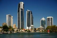 Alto aumento del Gold Coast immagini stock
