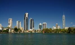 Alto aumento del Gold Coast Fotografia Stock