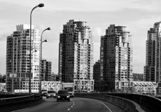Alto aumento residenziale Fotografia Stock Libera da Diritti
