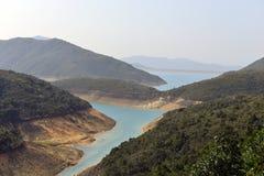 alto bacino idrico dell'isola Fotografie Stock Libere da Diritti