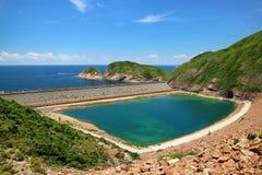 alto bacino idrico dell'isola Fotografia Stock