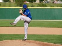 alto banco della brocca di baseball Immagine Stock