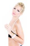 Alto blonde chiave Immagine Stock