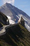 Alto camino alpestre de Grossglockner foto de archivo