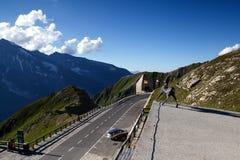 Alto camino alpestre de Grossglockner fotografía de archivo libre de regalías