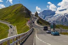 Alto camino alpestre de Grossglockner austria europa imagen de archivo libre de regalías