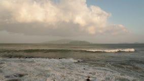 Alto clip Vietnam de la película de la definición de las olas oceánicas almacen de metraje de vídeo