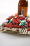 Alto coste de cuentas médicas Foto de archivo libre de regalías