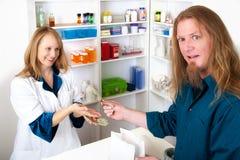 Alto coste de cuidado médico Imagenes de archivo