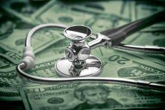 Alto costo del concetto di sanità Immagini Stock Libere da Diritti