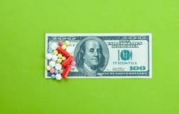 Alto costo medico Immagine Stock