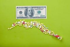 Alto costo medico Immagini Stock