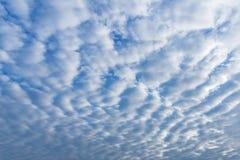 Alto-cumulus clouds Stock Photography