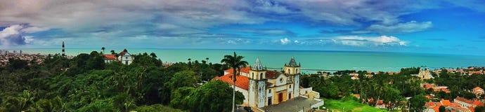 Alto da Sé, Olinda, Brazil royalty free stock photography