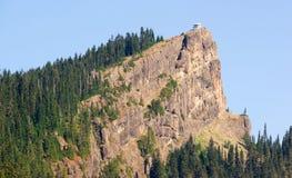 Alto dente di sega Ridge Washing dell'allerta del fuoco della roccia della struttura storica Immagini Stock Libere da Diritti