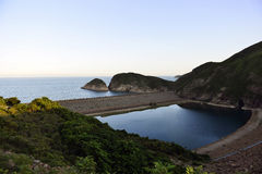 alto depósito de la isla Fotos de archivo libres de regalías