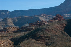 Alto desierto Fotos de archivo libres de regalías