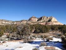 Alto desierto en invierno Imagenes de archivo