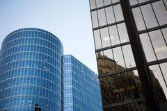Alto edificio de la subida Foto de archivo