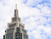 Alto edificio del negocio de la subida Fotografía de archivo libre de regalías