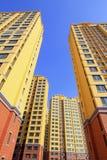 Alto edificio inacabado de la subida Foto de archivo libre de regalías