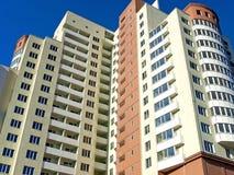 Alto edificio residenziale Fotografie Stock Libere da Diritti