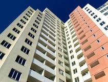 Alto edificio residenziale Immagine Stock