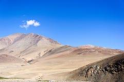 Alto en el Himalaya, meseta de Changthang, Ladakh, la India Imagenes de archivo