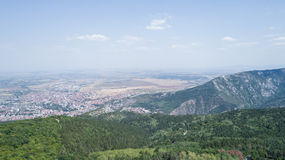 Alto en las montañas en Sunny Day Fotografía de archivo libre de regalías