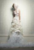 Alto ereto com véu Imagem de Stock Royalty Free
