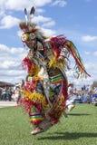 Alto escalonamiento en el powwow de Julyamsh Fotografía de archivo libre de regalías