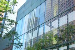 Alto esterno Windows della costruzione Fotografie Stock