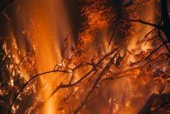 Alto Fire #7 fotografia de stock