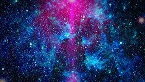 Alto fondo del giacimento di stella di definizione Struttura stellata del fondo dello spazio cosmico Fondo stellato variopinto de fotografia stock