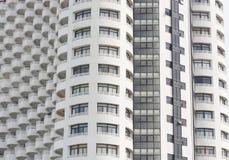 Alto fondo di struttura della costruzione della finestra Immagini Stock Libere da Diritti