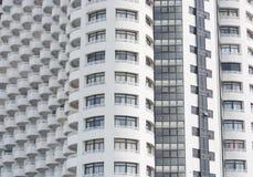 Alto fondo di struttura della costruzione della finestra Fotografia Stock Libera da Diritti