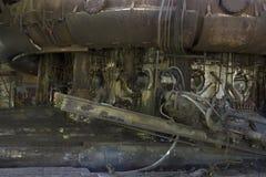 Alto-forno do ferro de porco Fotografia de Stock