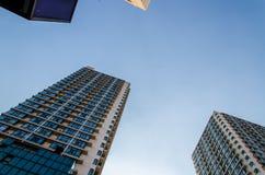 Alto grattacielo moderno Immagini Stock