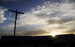 Alto-incrocio in santuario di Fatima Fotografie Stock