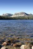 Alto lago dello specchio di Uinta Fotografie Stock