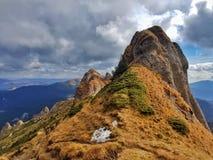 Alto landskape carpatian della montagna Fotografia Stock